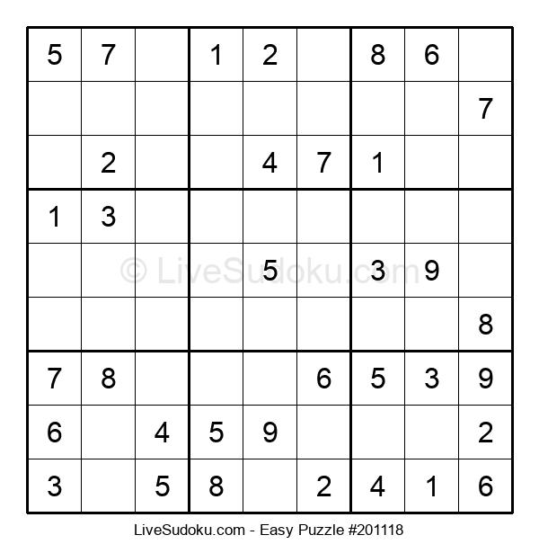 Beginners Puzzle #201118