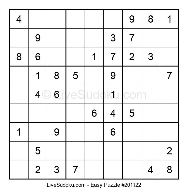 Beginners Puzzle #201122