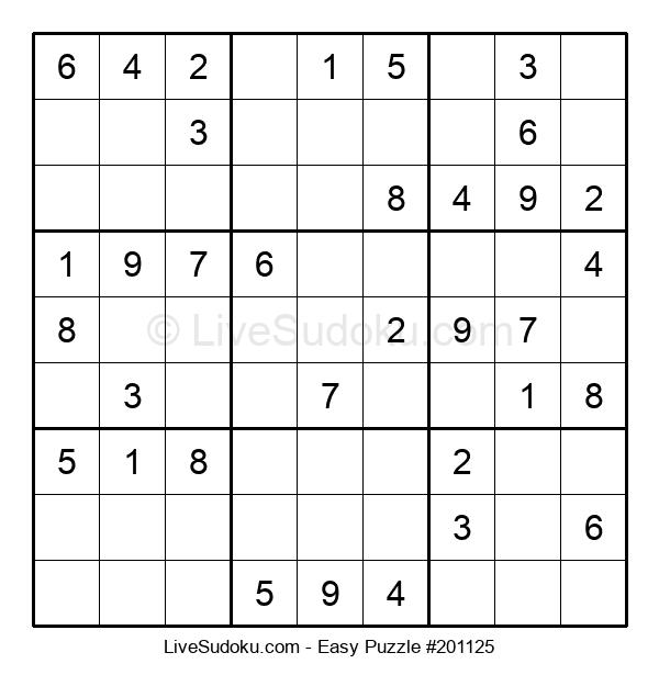 Beginners Puzzle #201125
