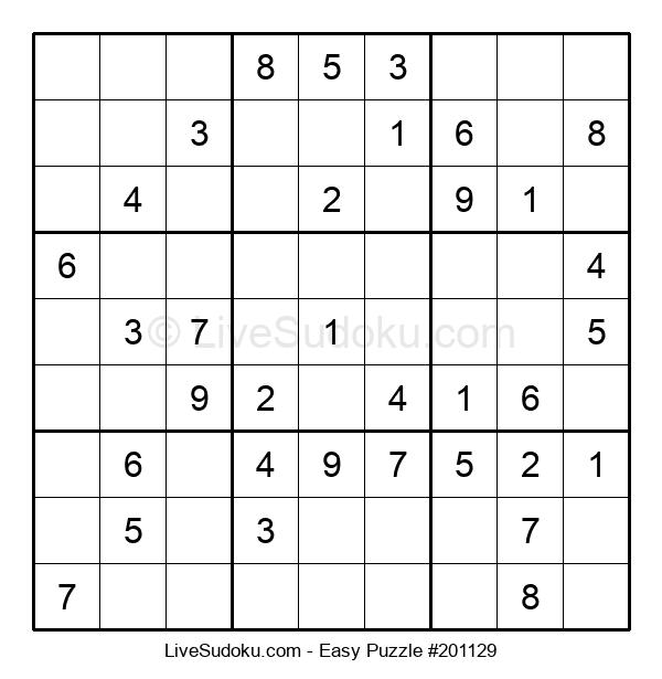 Beginners Puzzle #201129