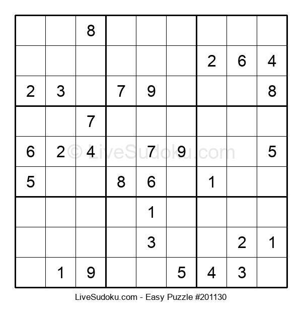 Beginners Puzzle #201130