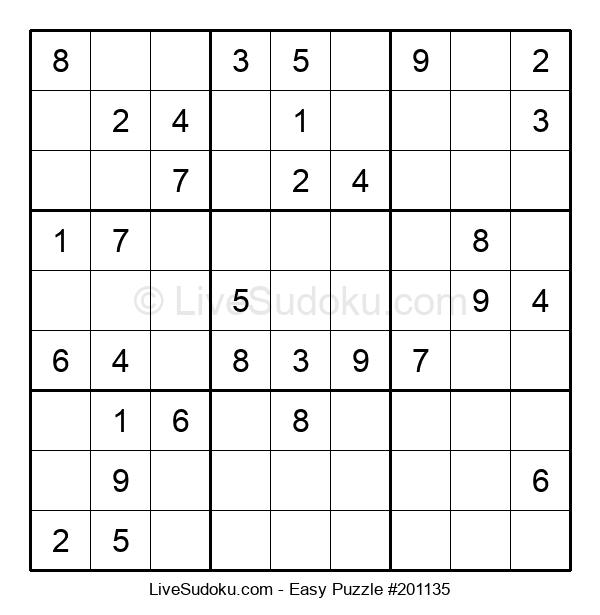 Beginners Puzzle #201135