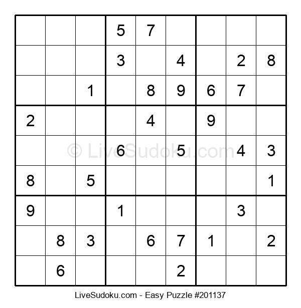 Beginners Puzzle #201137