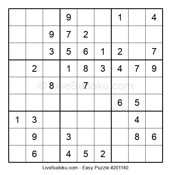 Beginners Puzzle #201140