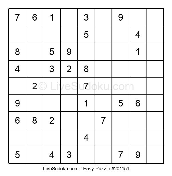 Beginners Puzzle #201151