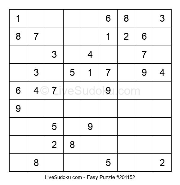 Beginners Puzzle #201152
