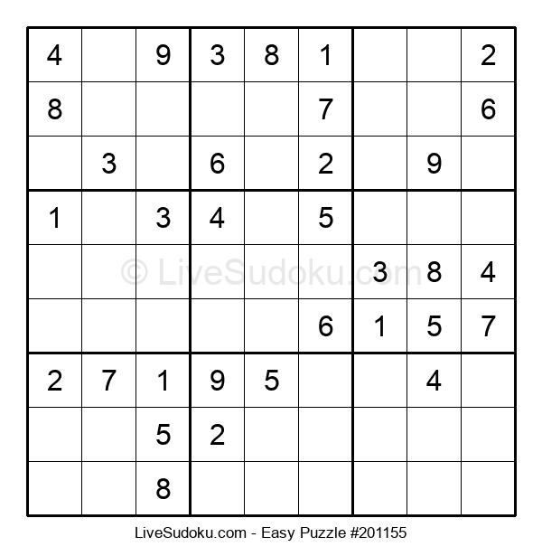 Beginners Puzzle #201155