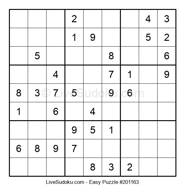 Beginners Puzzle #201163