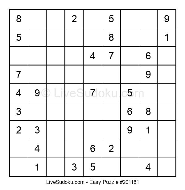 Beginners Puzzle #201181