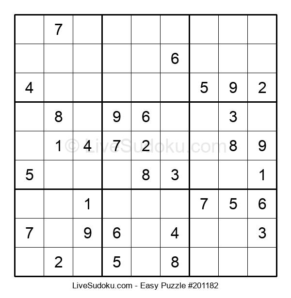Beginners Puzzle #201182