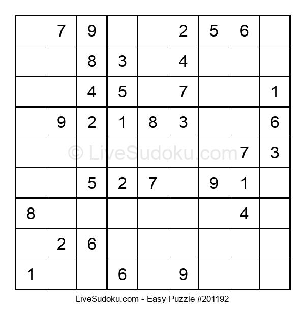 Beginners Puzzle #201192