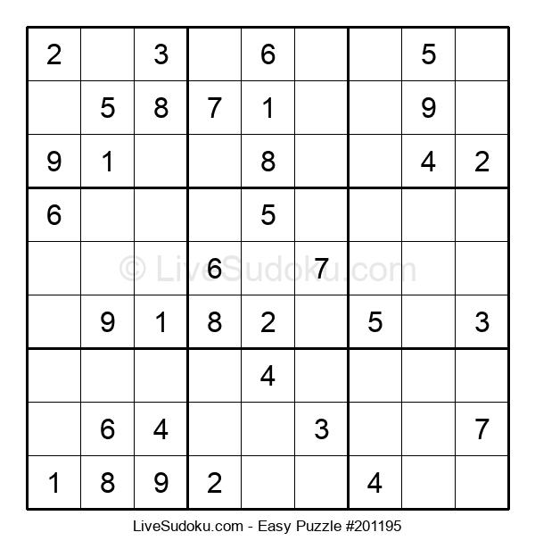Beginners Puzzle #201195