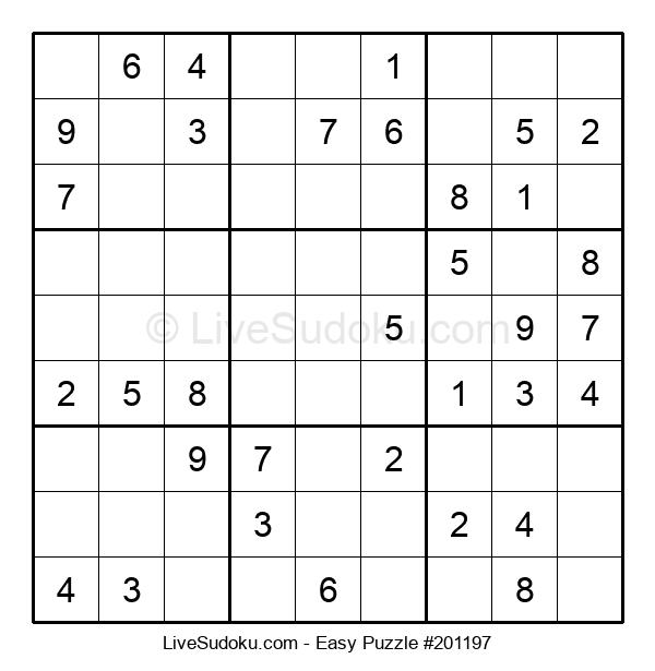 Beginners Puzzle #201197