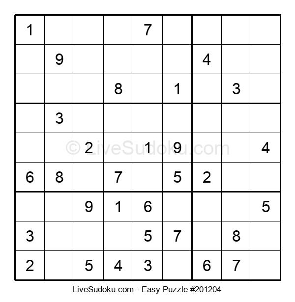 Beginners Puzzle #201204