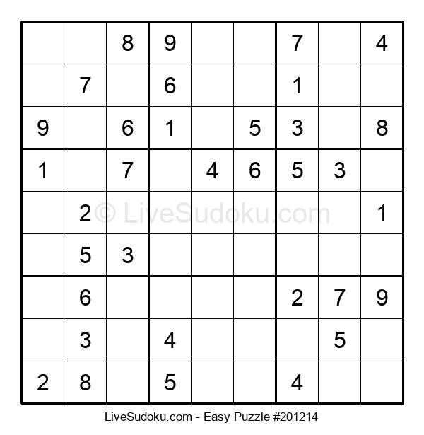 Beginners Puzzle #201214