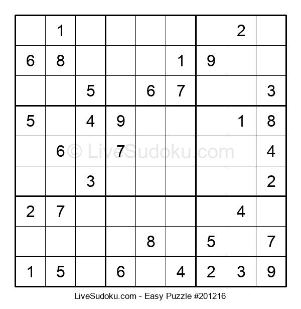 Beginners Puzzle #201216