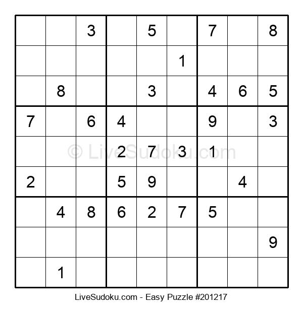 Beginners Puzzle #201217