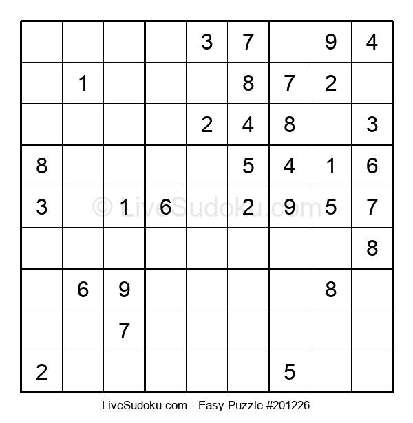 Beginners Puzzle #201226