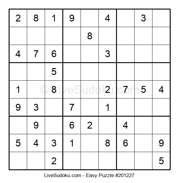 Beginners Puzzle #201227