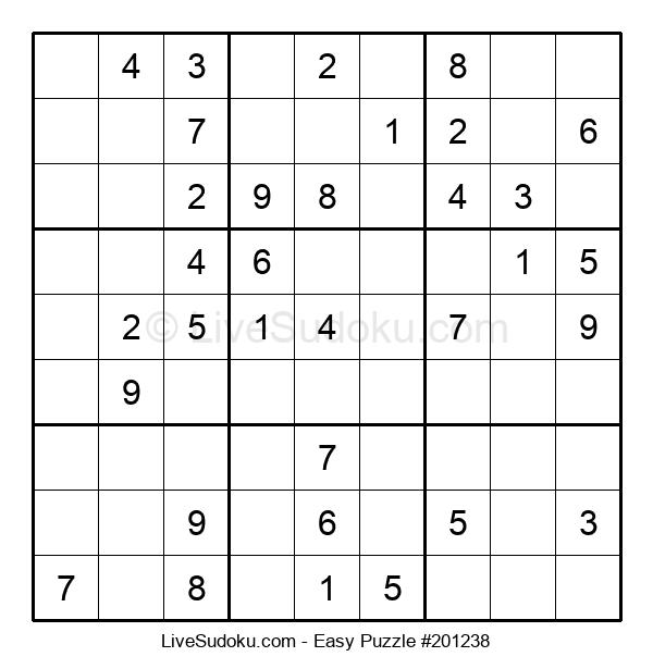 Beginners Puzzle #201238