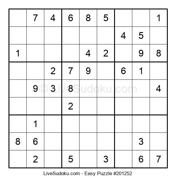 Beginners Puzzle #201252