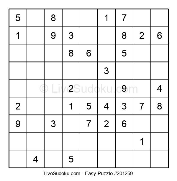 Beginners Puzzle #201259