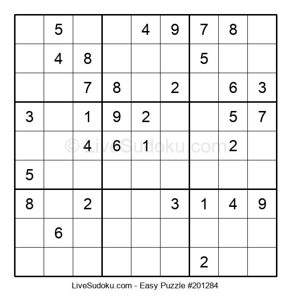 Beginners Puzzle #201284