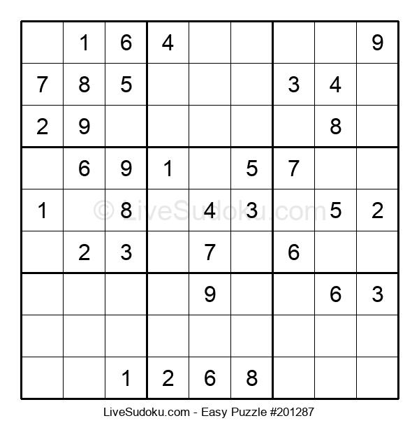 Beginners Puzzle #201287