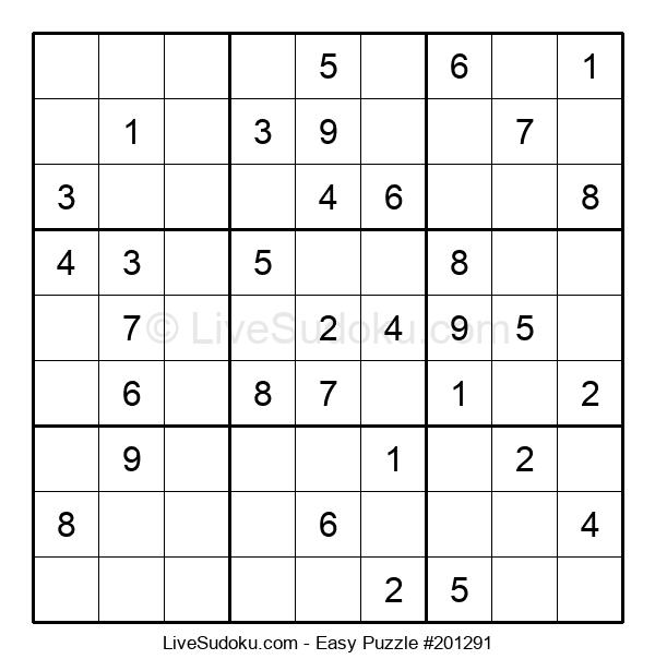 Beginners Puzzle #201291