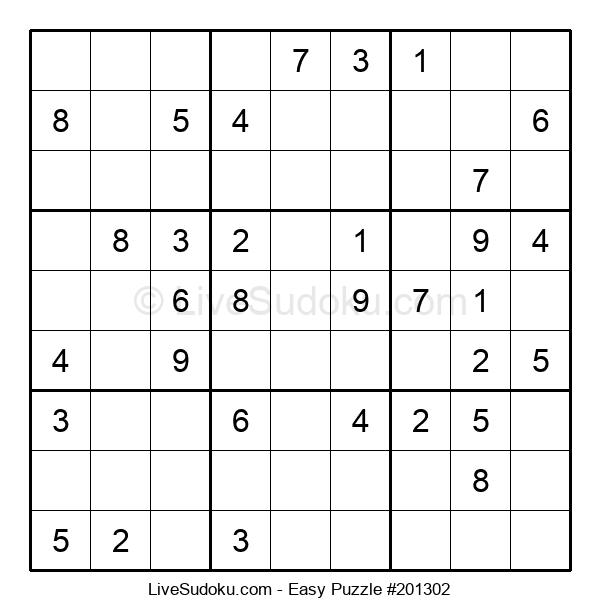 Beginners Puzzle #201302