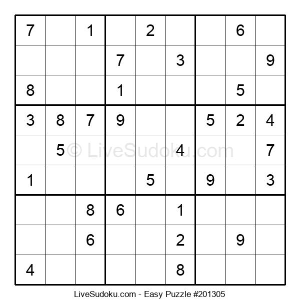 Beginners Puzzle #201305