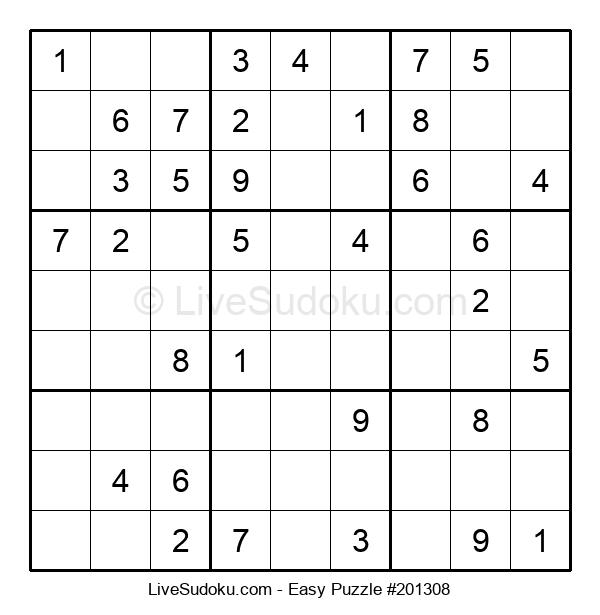 Beginners Puzzle #201308
