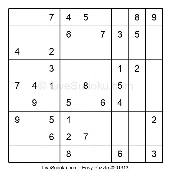 Beginners Puzzle #201313