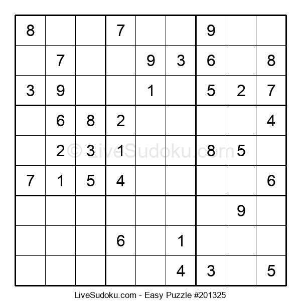 Beginners Puzzle #201325