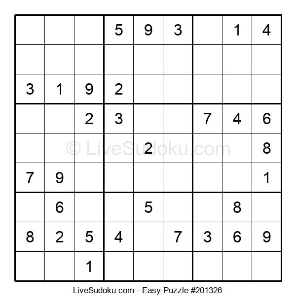 Beginners Puzzle #201326
