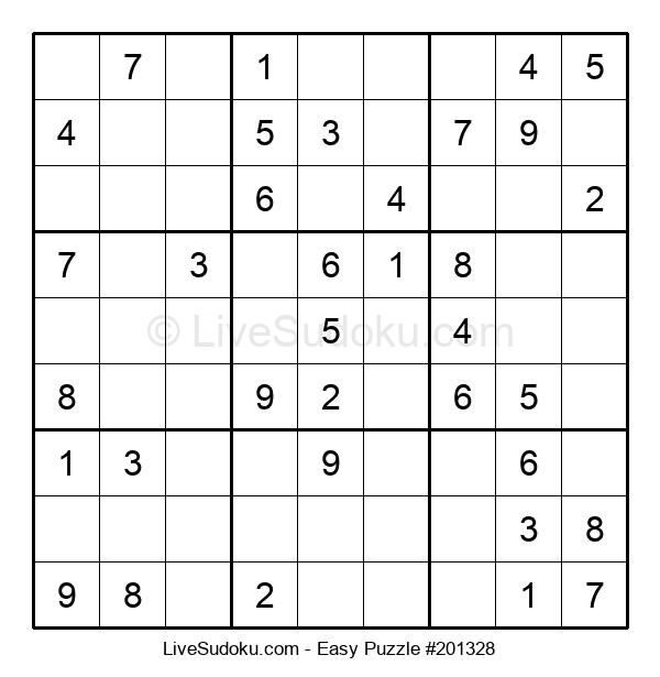 Beginners Puzzle #201328