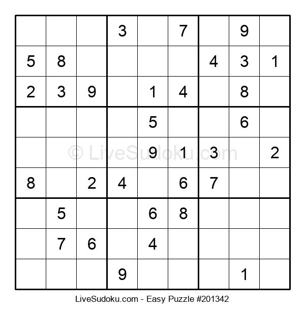 Beginners Puzzle #201342