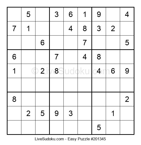 Beginners Puzzle #201345