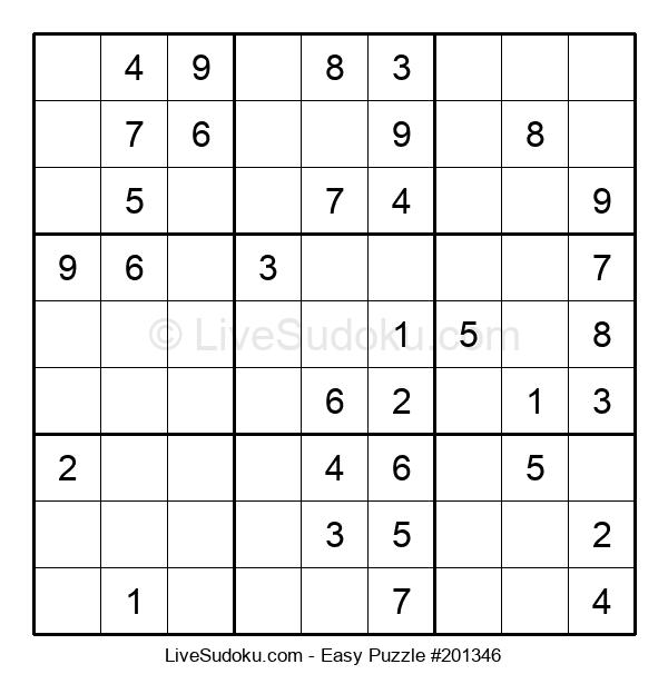 Beginners Puzzle #201346