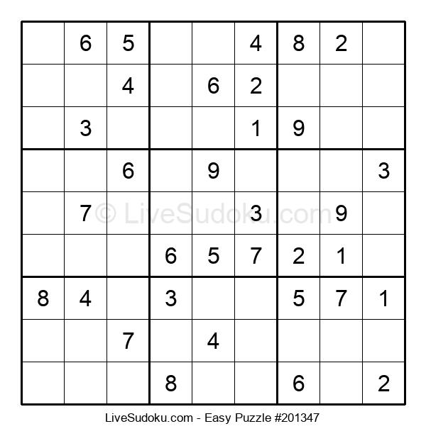 Beginners Puzzle #201347