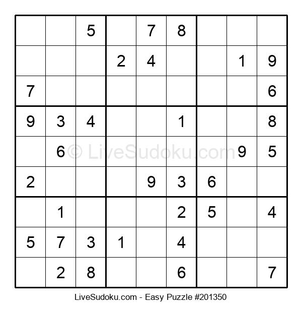 Beginners Puzzle #201350