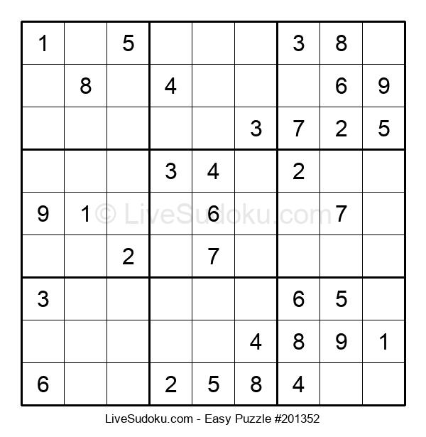 Beginners Puzzle #201352