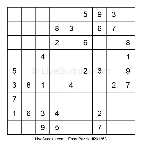 Beginners Puzzle #201363