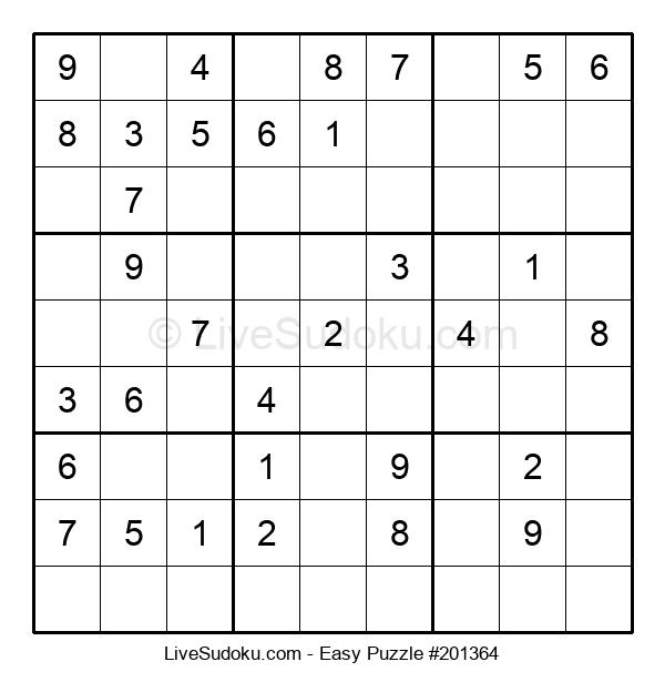Beginners Puzzle #201364