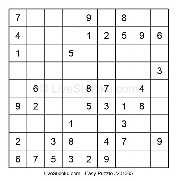 Beginners Puzzle #201365