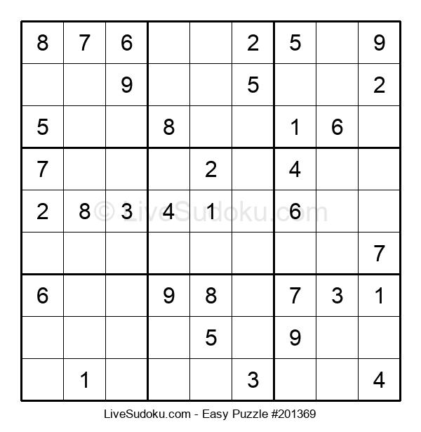 Beginners Puzzle #201369