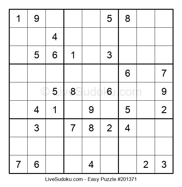Beginners Puzzle #201371