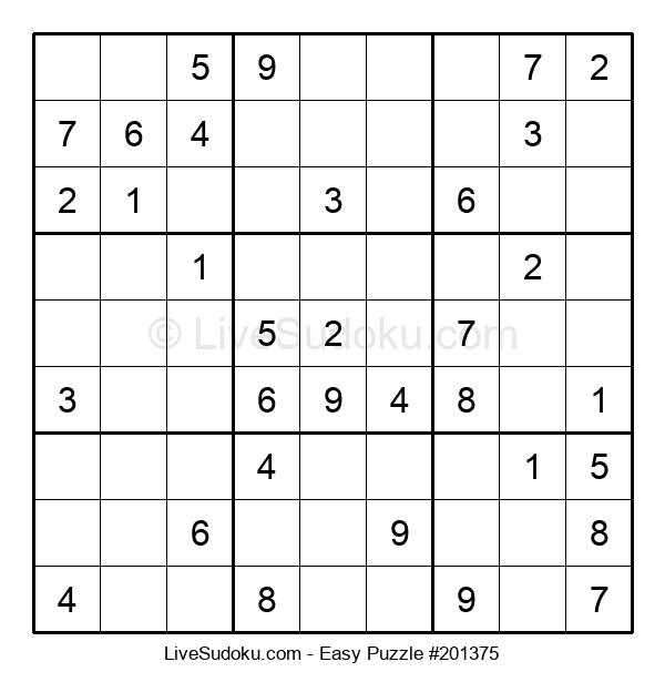 Beginners Puzzle #201375