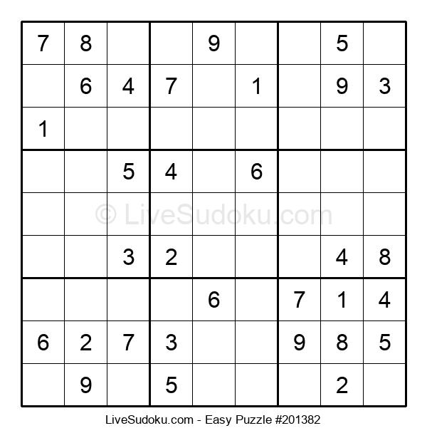 Beginners Puzzle #201382