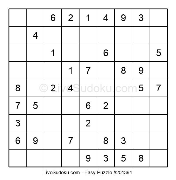 Beginners Puzzle #201394